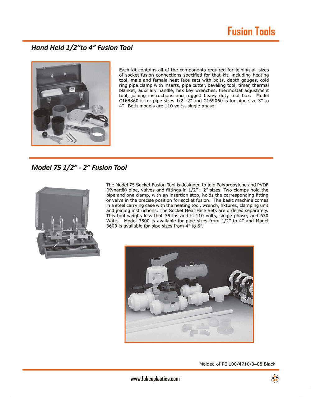 Pipe Cutters and Bevelers