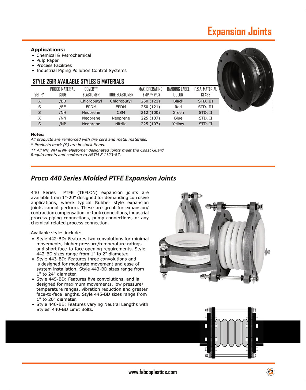 Saddles & Expansion Joints