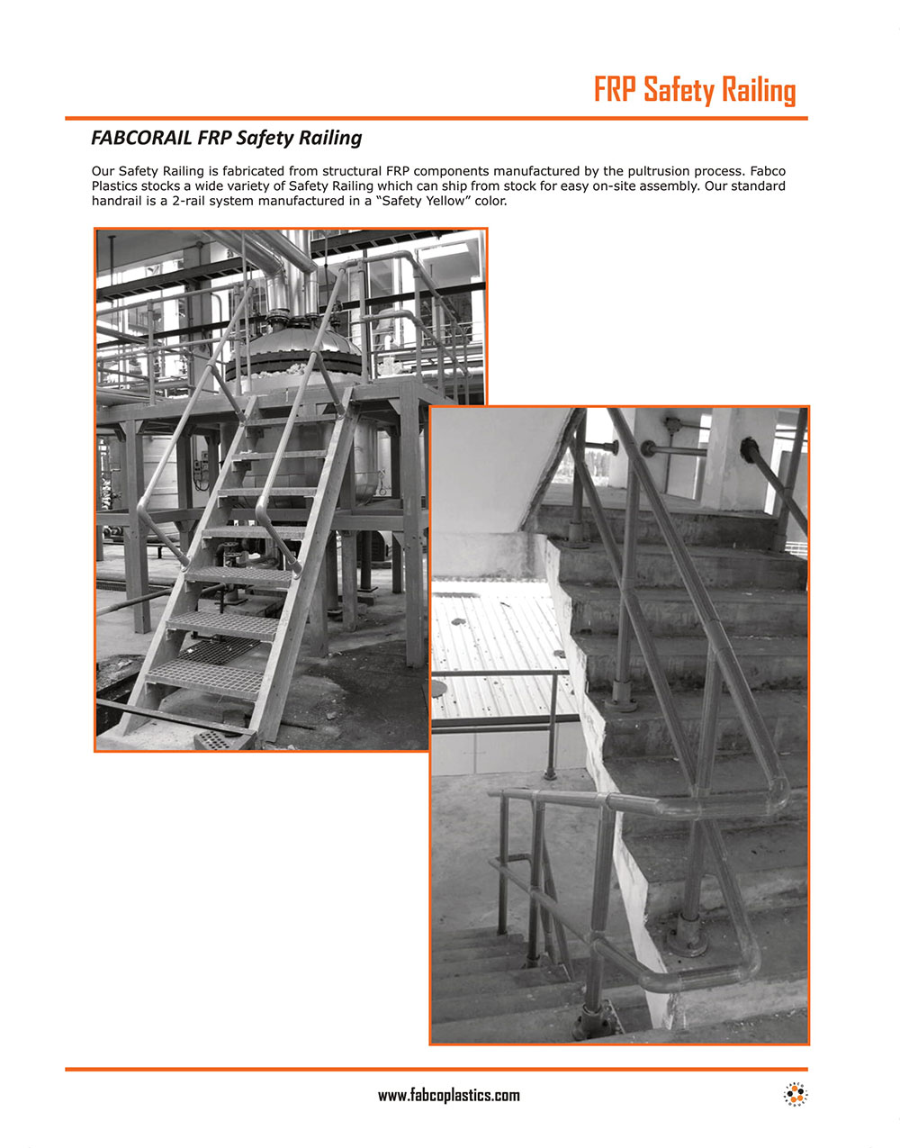 FRP Safety Railing