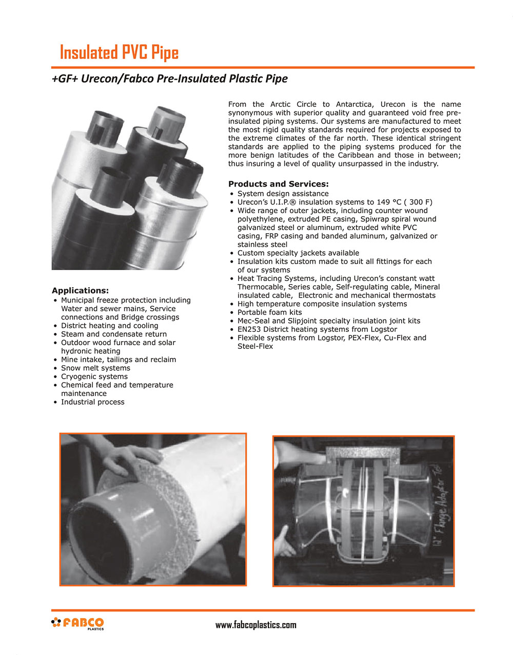 Insulated PVC Pipe